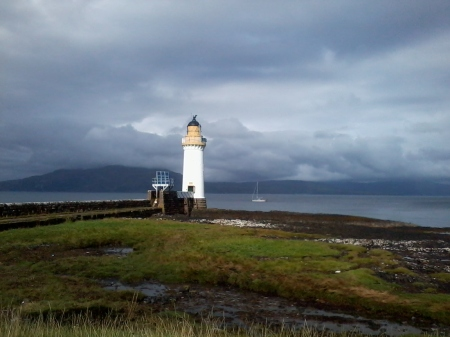 lighthouse on Mull