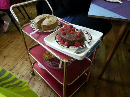 cake trolley
